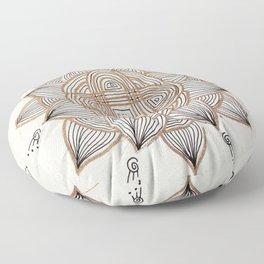 Rangoli #5 Floor Pillow