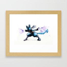 Aura Meditation Framed Art Print