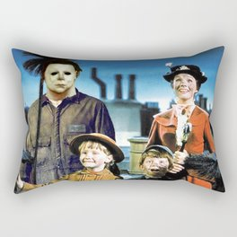 Michael Myers in Mary Poppins Rectangular Pillow