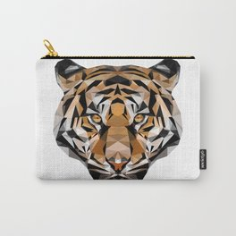 Low Poly Tiger Carry-All Pouch