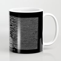 joy division Mugs featuring Joy Division by Abrian Sabo