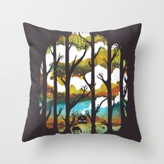 A Magical Place Throw Pillow