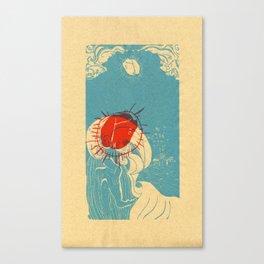 La Ola Canvas Print