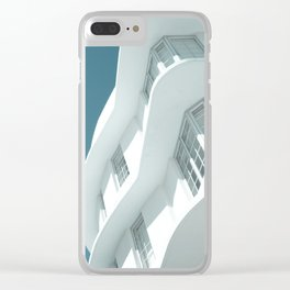 Art Deco Miami Beach #7 Clear iPhone Case