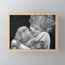 Enchanted Friendship Framed Mini Art Print