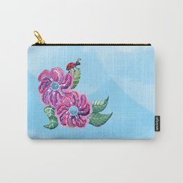 Contemplative Ladybug Carry-All Pouch
