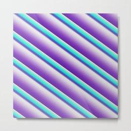 design wallpaper blue-green Metal Print