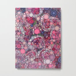:: Pink Constellation :: Metal Print