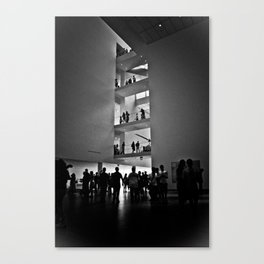 Ascend - from MOMA's Sofa Canvas Print