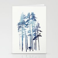 wolf Stationery Cards featuring Winter Wolf by Robert Farkas