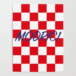 Lukas Modric number one Poster