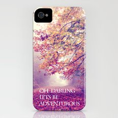 oh darling, lets be adventurous Slim Case iPhone (4, 4s)