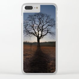 By the Light of the Moon Clear iPhone Case