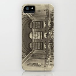 Grand Central Terminal Vintage iPhone Case