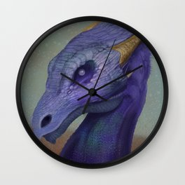 Pearl Eye Dragon Wall Clock