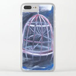 World Peace Clear iPhone Case