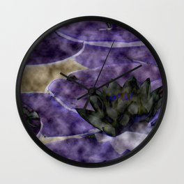 Different Water Lily  Wall Clock