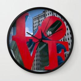 Lots of Love Wall Clock