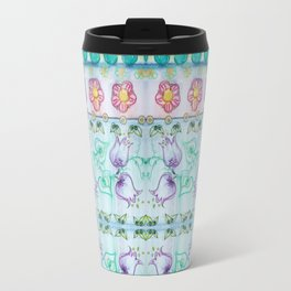 Bluebells and other flowers Travel Mug