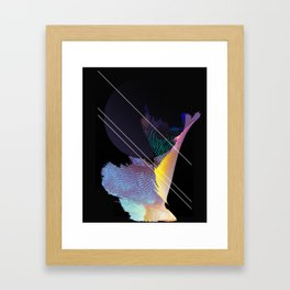 what's the point of even sleeping Framed Art Print