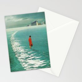 Waiting For The Cities To Fade Out Stationery Cards