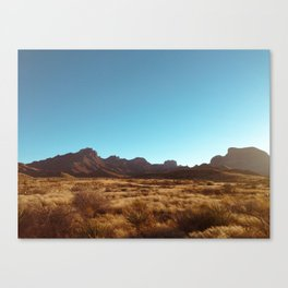 Texas To Mars Canvas Print