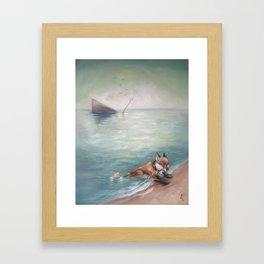 Sea Fox  Framed Art Print