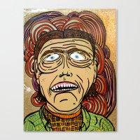 danny ivan Canvas Prints featuring Ivan by Patty Hogan