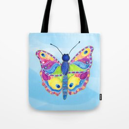 Butterfly II on a Summer Day Tote Bag