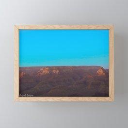 Blue Sky Canyon Framed Mini Art Print