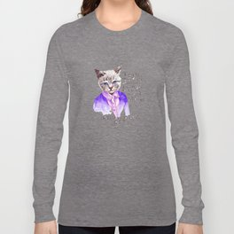 Fashion Mr. Cat Karl Lagerfeld and Chanel Long Sleeve T-shirt