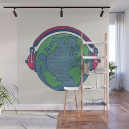 World Music Wall Mural