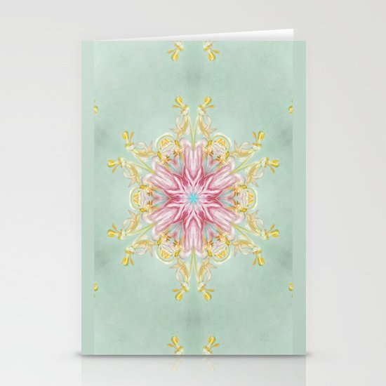 aging beauty (pattern/pillow) Stationery Cards
