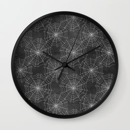 Spider Webs Wall Clock