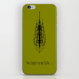 You light up my life... iPhone Skin
