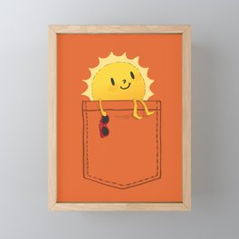 Pocketful of sunshine Framed Mini Art Print
