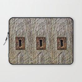 The Old Door Lock Laptop Sleeve