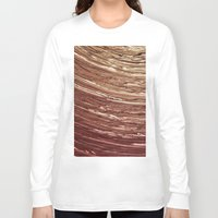 tree rings Long Sleeve T-shirts featuring Rings by Kathy Dewar