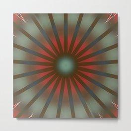 Basal Color Mandala 11 Metal Print