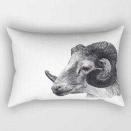 Tête de bouc Rectangular Pillow