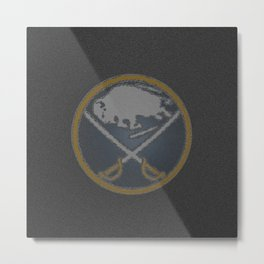 BuffaloSabres Logo Metal Print