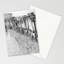 Long Beach Surf Contest 1930s Stationery Cards