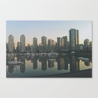 vancouver Canvas Prints featuring Vancouver by Luke Gram