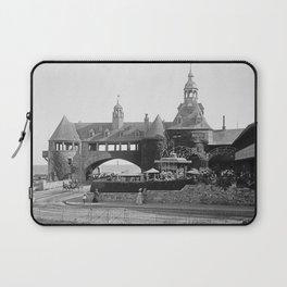 1890 Narragansett Towers & Casino, Narragansett, Rhode Island Laptop Sleeve
