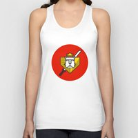 gryffindor Tank Tops featuring Gryffindor House Crest Icon by Manuja Waldia