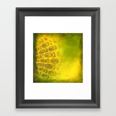 Dirty feathering Framed Art Print