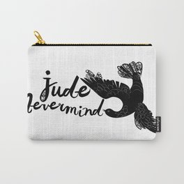 Jude Nevermind logo Carry-All Pouch