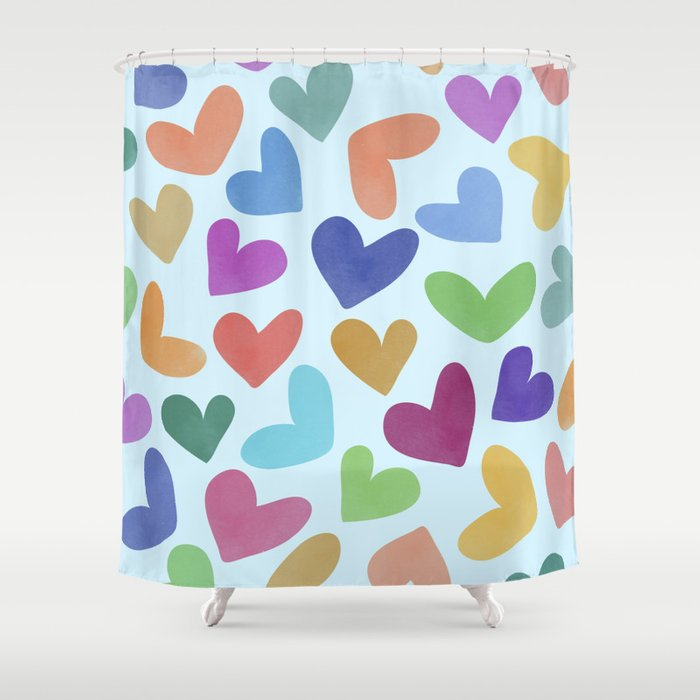Lovely Pattern III Shower Curtain