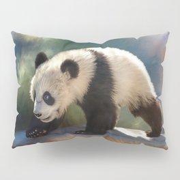 Cute panda bear baby Pillow Sham
