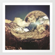Everest's Connection  Art Print
